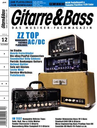Gitarre & Bass - 12/2013